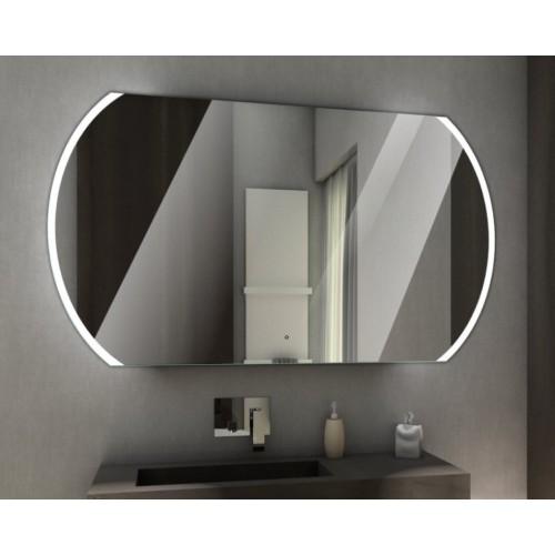 Зеркало с подсветкой для ванной комнаты Полярис